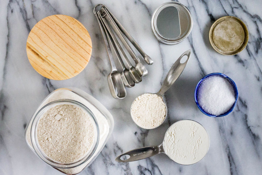 flour oat whole wheat dry ingredients