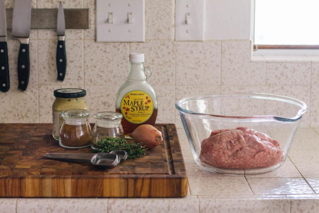 turkey maple breakfast sausage recipe ingredients