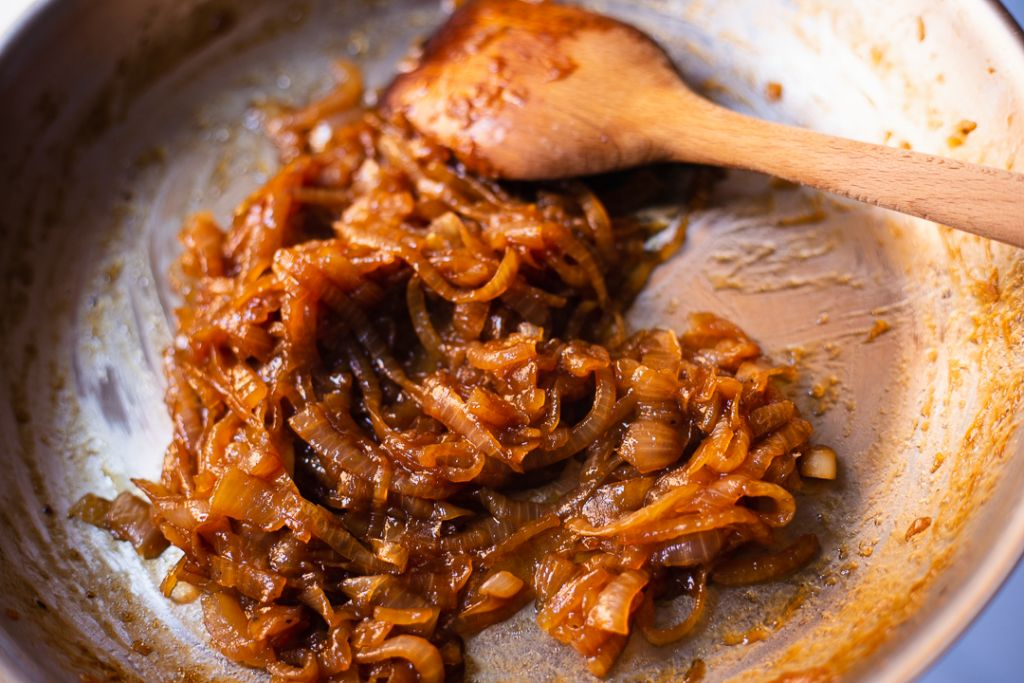 deeply caramelized onions