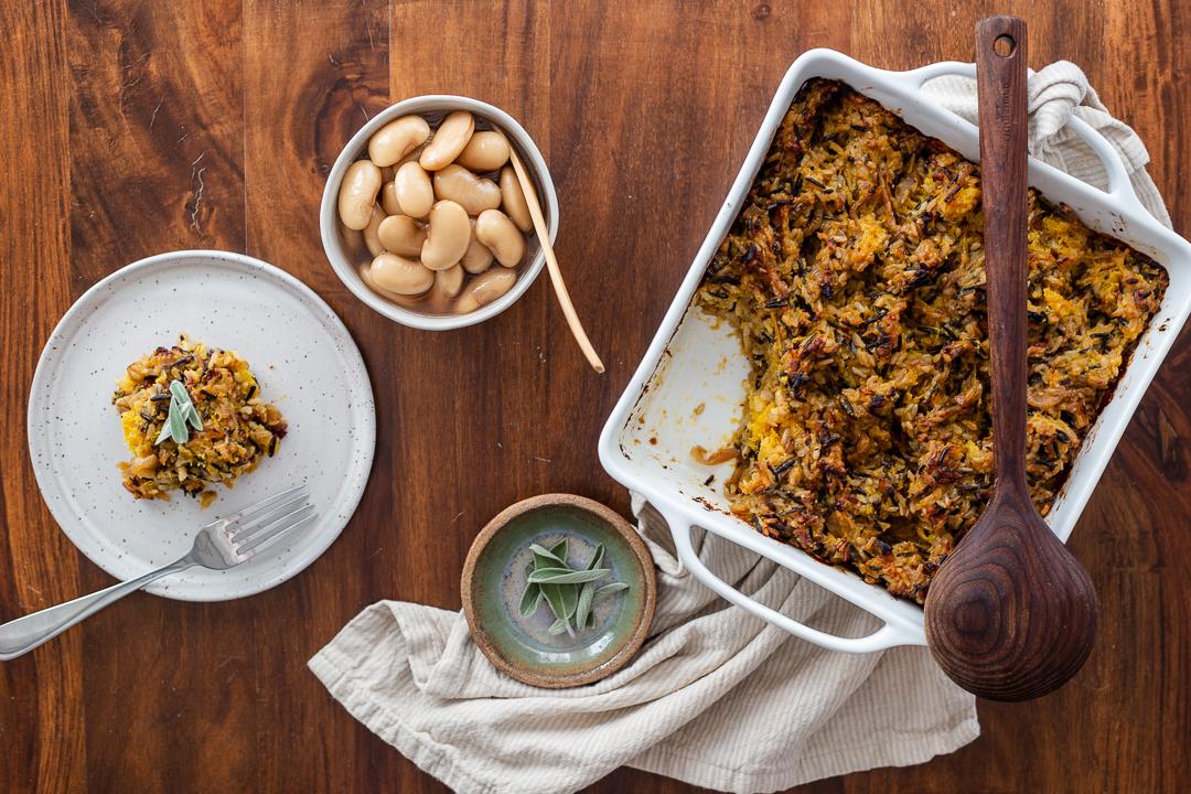 Vegan Gluten Free Wild Rice Stuffing